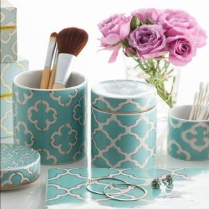 Rosanna Alhambra medium porcelain Vanity Box NEW